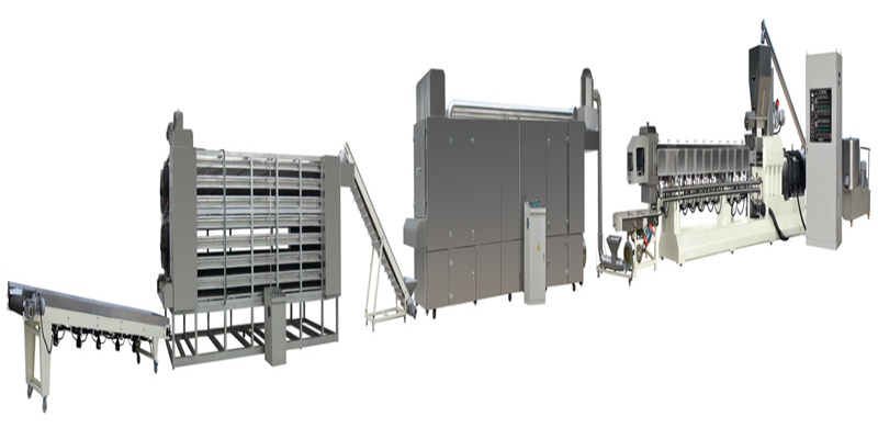 Textured Soya Protein Fiber Protein Food Production Line